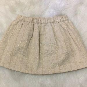 OshKosh B'gosh Bottoms - Girls osh Kosh gold shimmer skirt
